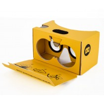 I Am Cardboard - VR Headset - Yellow