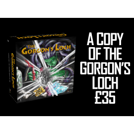 The Gorgon's Loch - A board game for 1 to 5 players