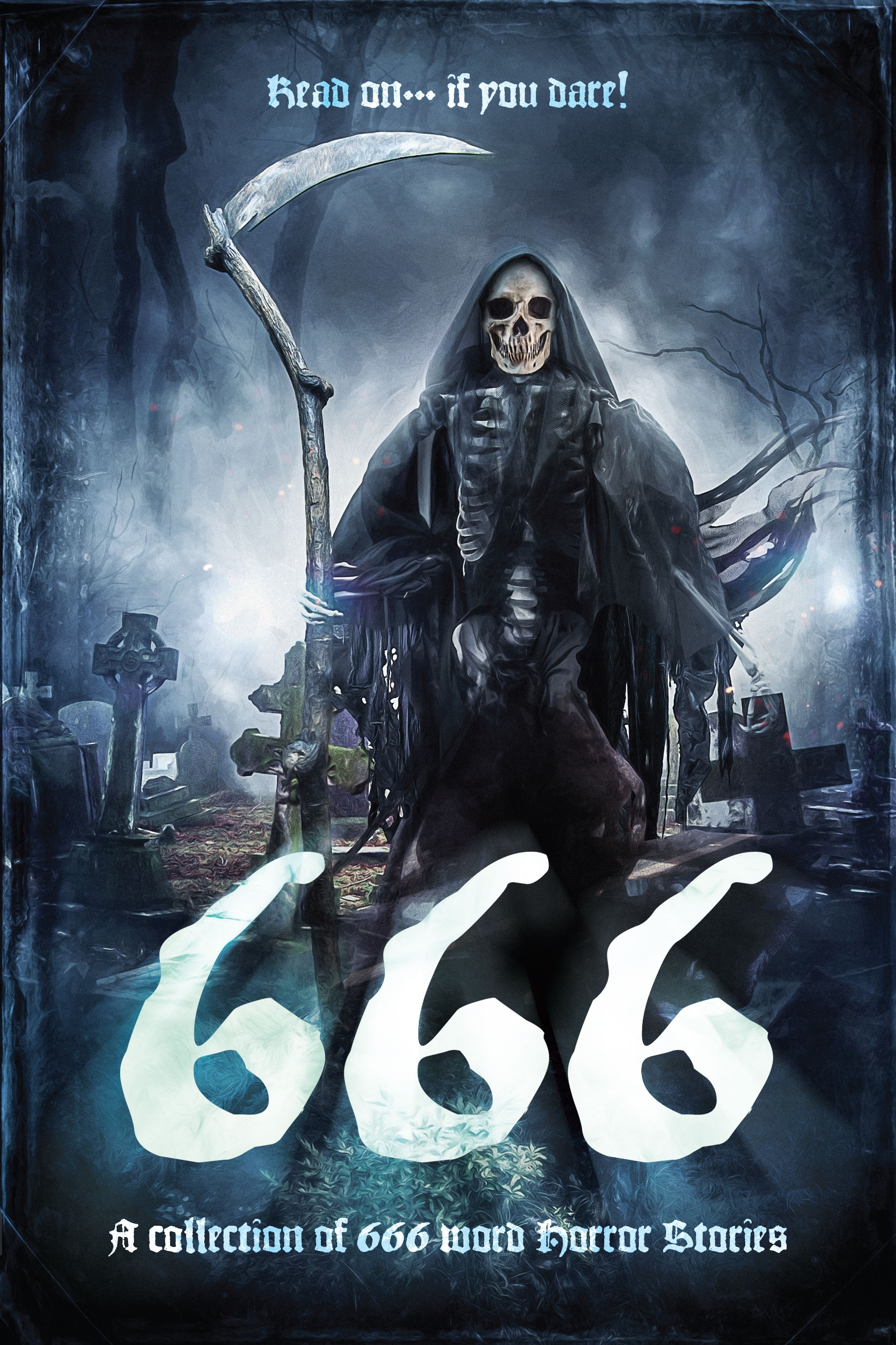 The cover of the '666' anthology.